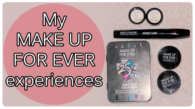 2 featured image My MAKE UP FOR EVER experiences