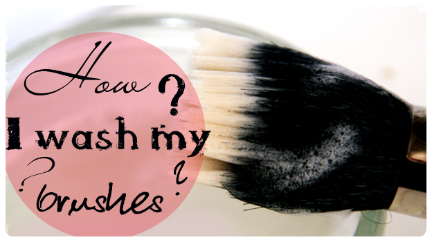 2 featured image how I wash my brushes