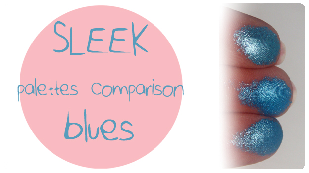 2 featured image SLEEK palettes comparison blues