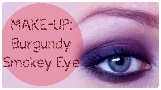 2 featured image MAKE-UP Burgundy Smokey Eye
