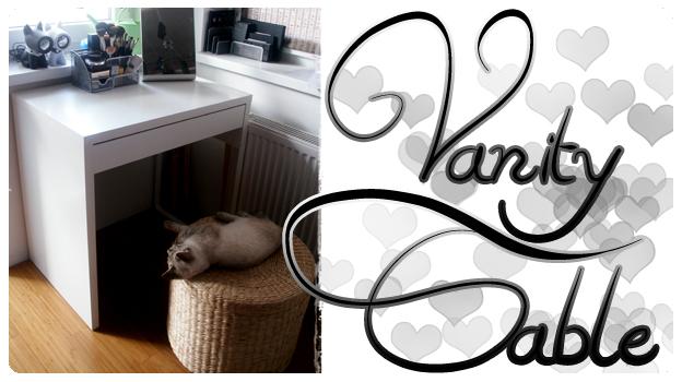 Zapomniałam Wam pokazać moją toaletkę ;) / I forgot to show you my vanity table ;)