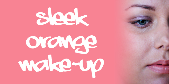2 featured image sleek orange make up