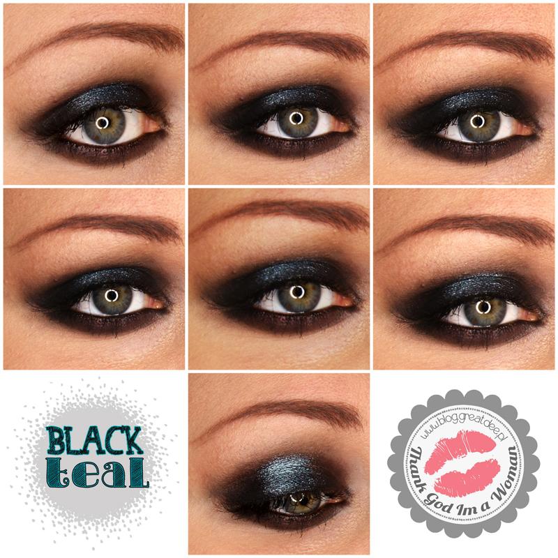 000109 Black teal