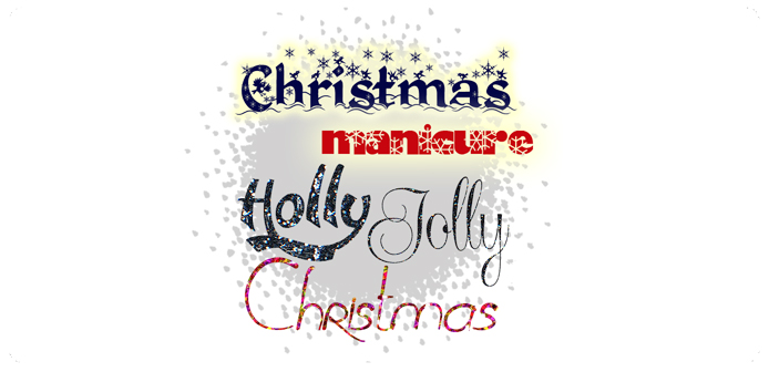 Manicure: Holly Jolly Christmas