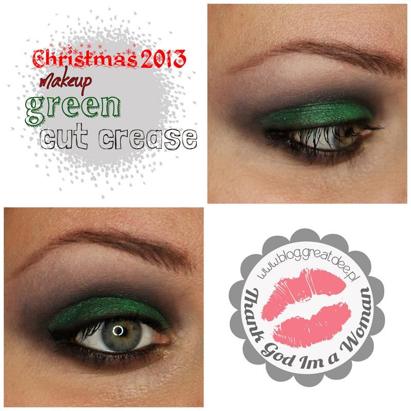 000117 Christmas 2013 green cut crease