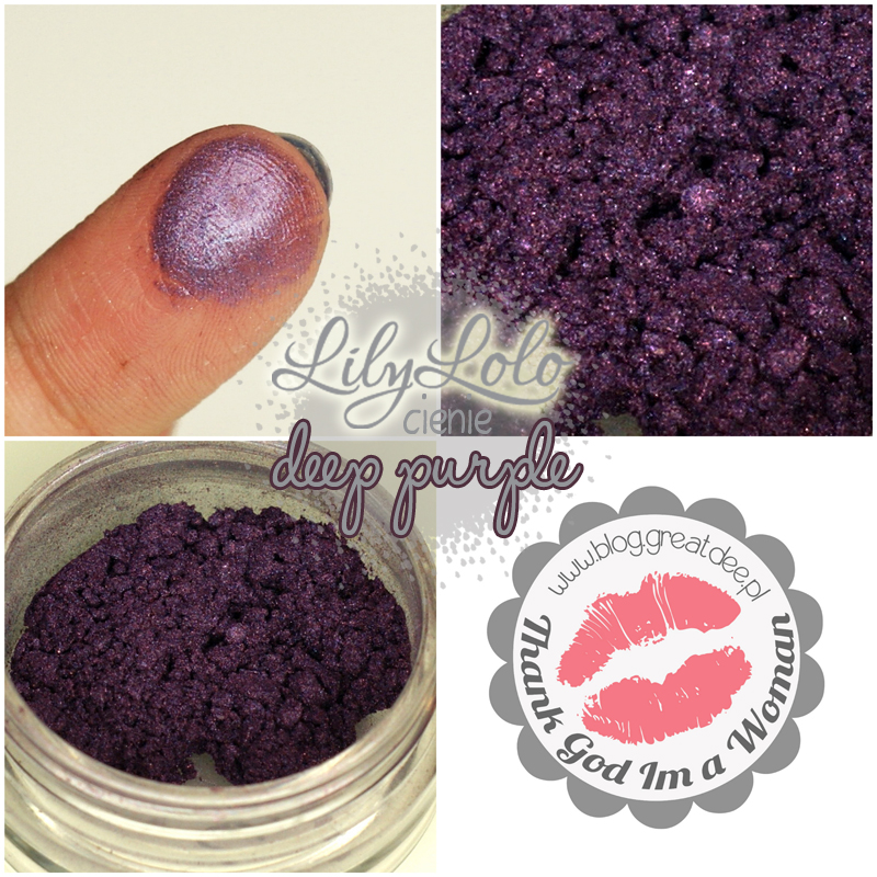 003 Lily Lolo cienie deep purple