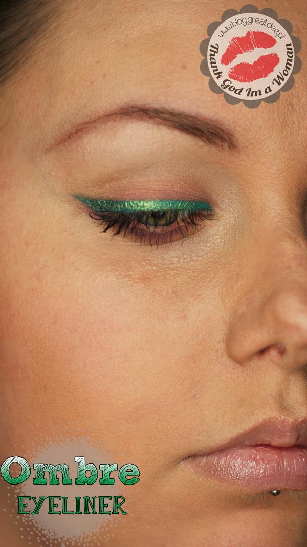 Make-up tutorial: Kreska Ombre Step By Step makijaż