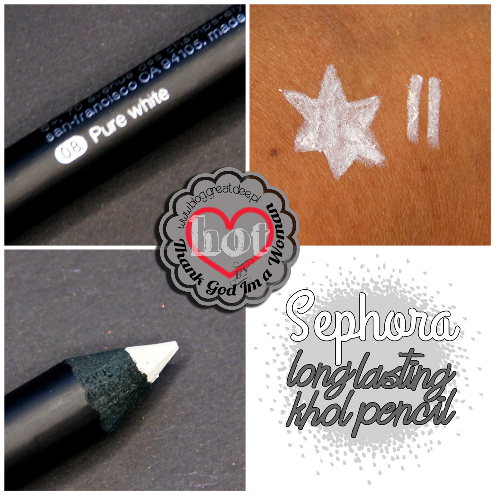 Sephora long lasting khol pencil 08 pure white