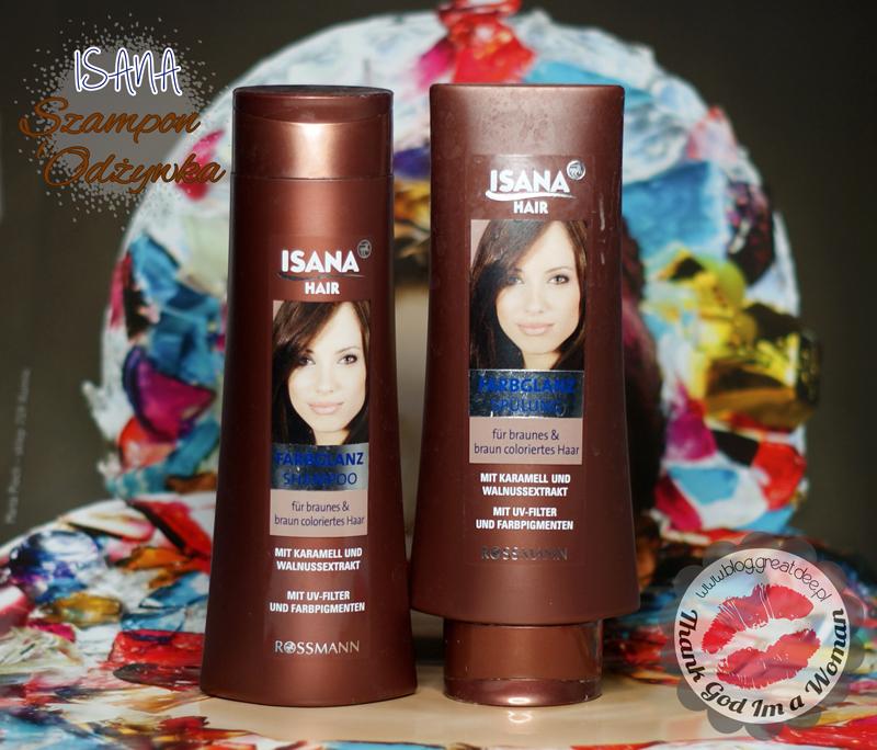 ISANA: szmpon i odżywka do brązowych włosów