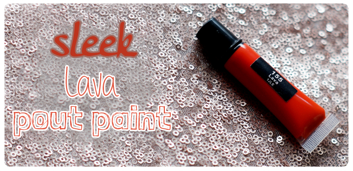 Sleek pout paint LAVA