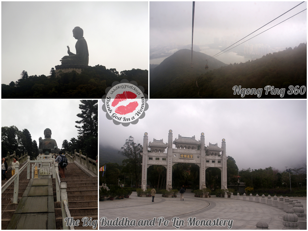 The Big Buddha and Po Lin Monastery Ngong Ping 360