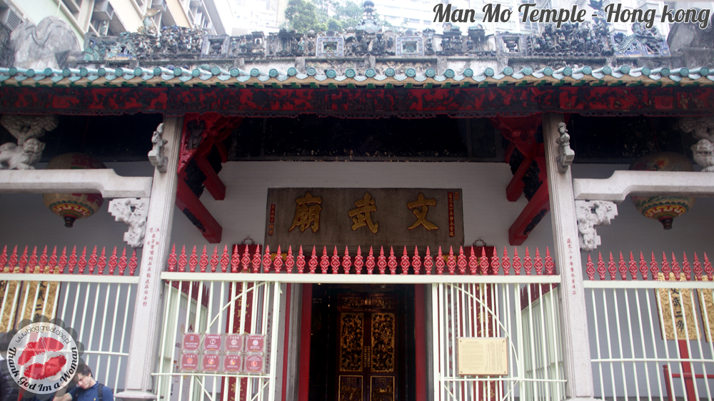 Man Mo Temple - Hong kong