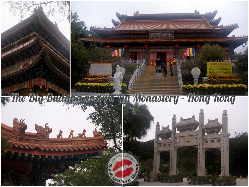 The Big Buddha and Po Lin Monastery hong kong