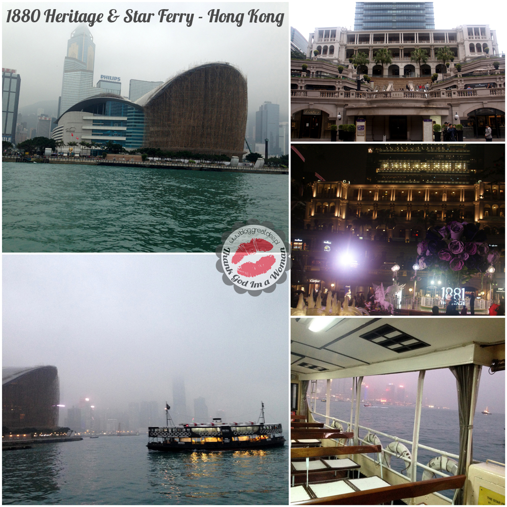 1880 Heritage & Star Ferry - Hong Kong