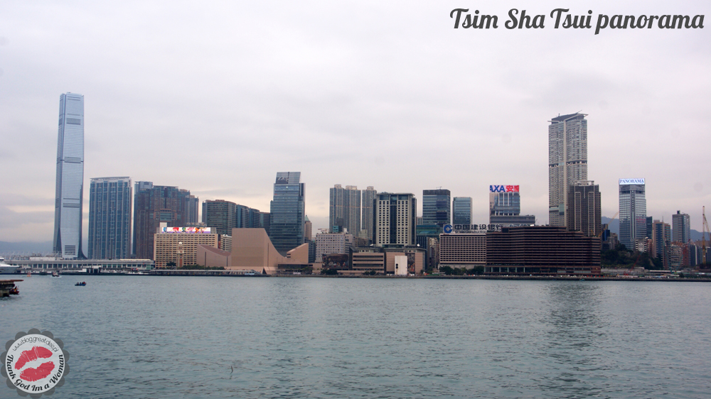 Tsim Sha Tsui panorama