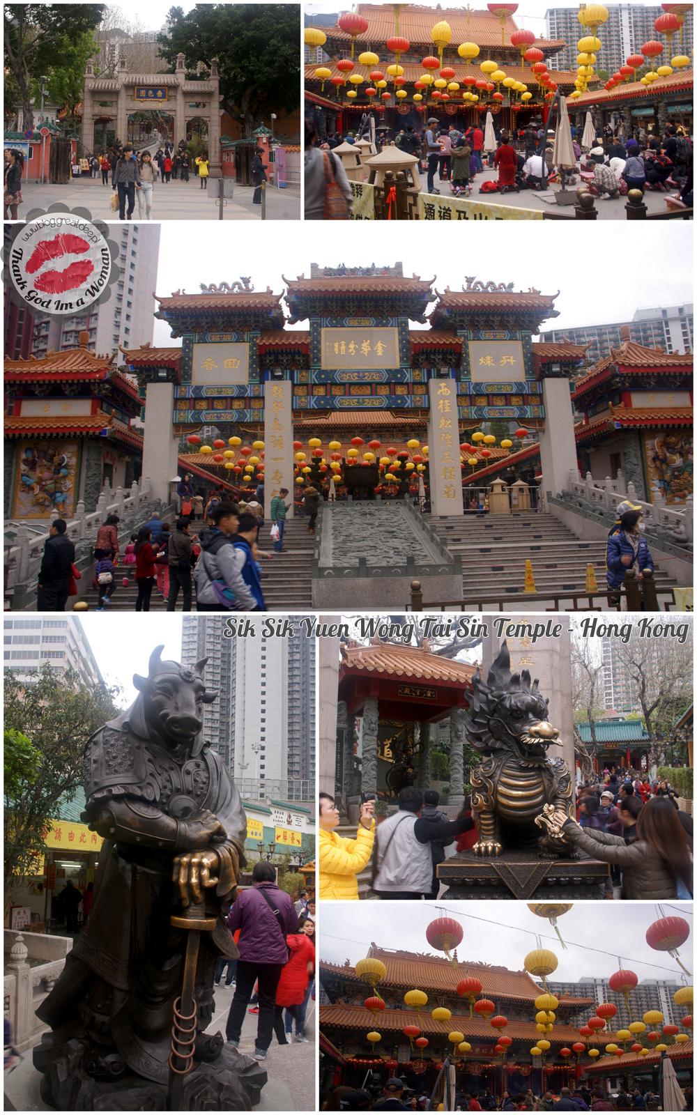 Sik Sik Yuen Wong Tai Sin Temple - Hong Kong
