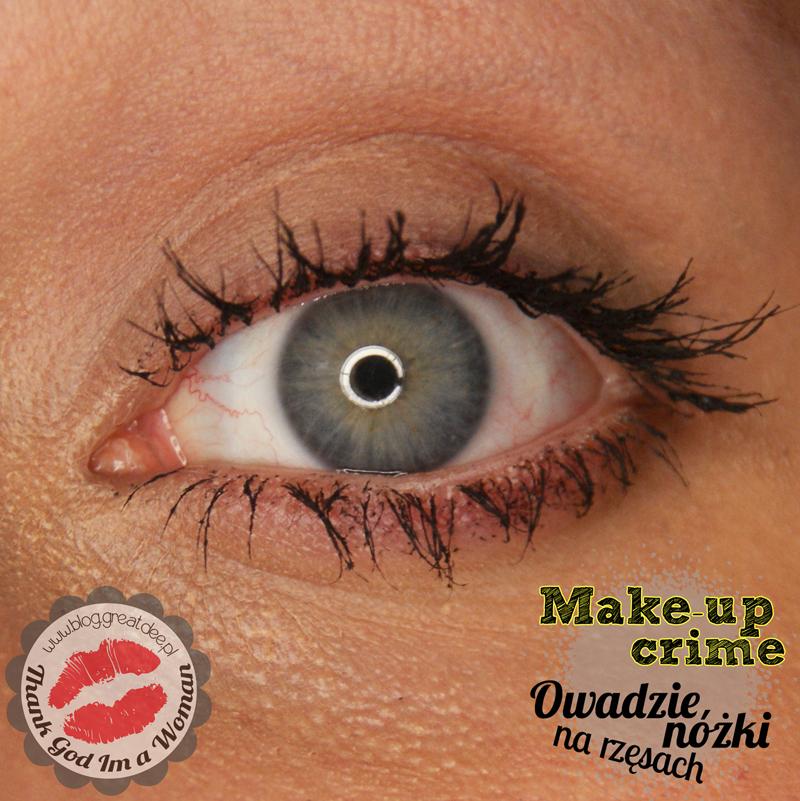 Make-up Crime: Jak malować rzęsy?