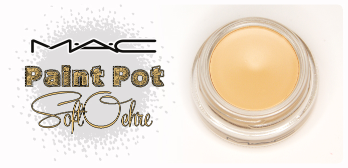MAC Paint Pot Soft Ochre - baza idealna?