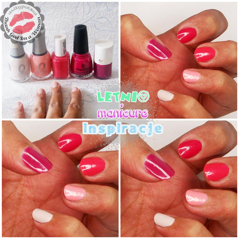 Letni manicure - kilka inspiracji ombre