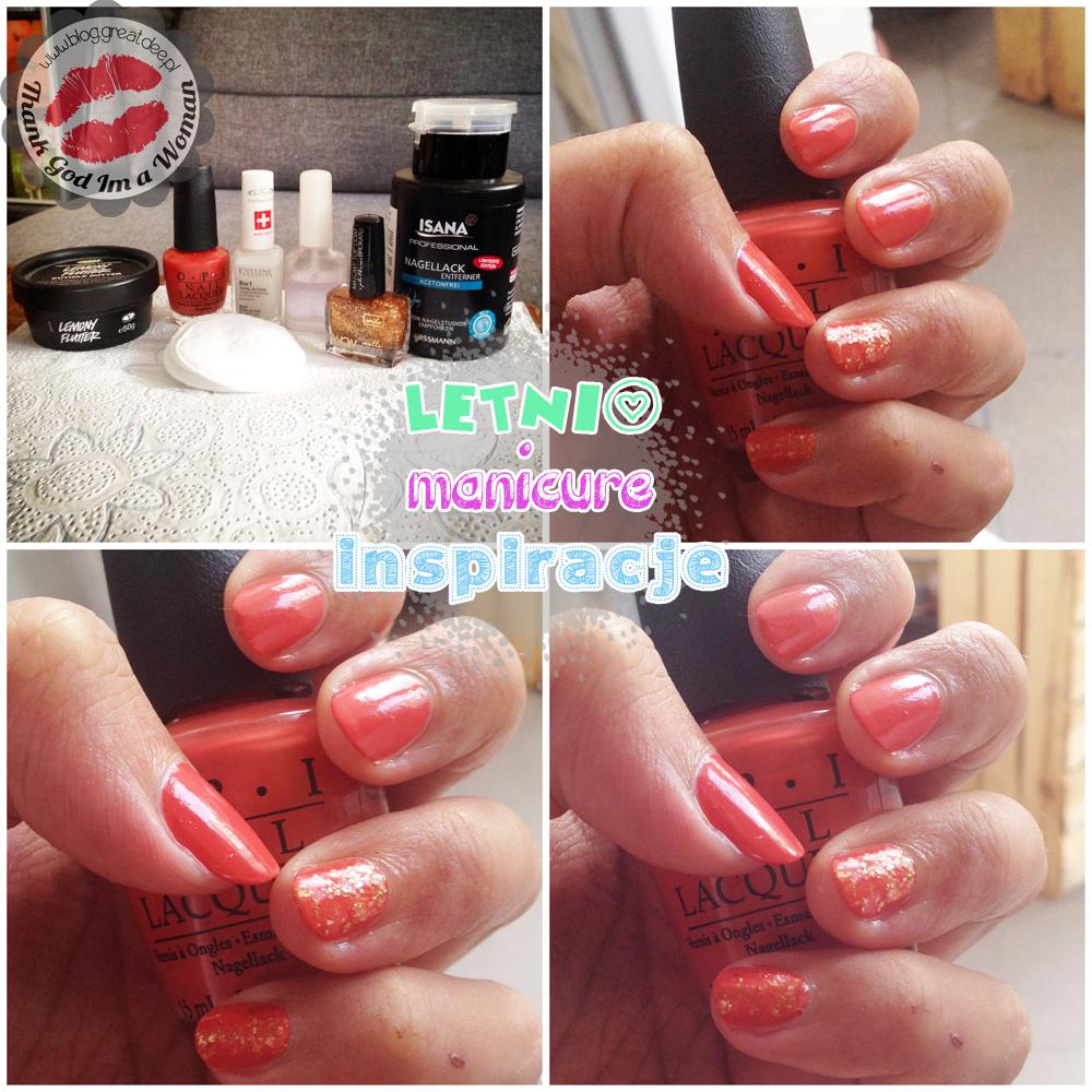 Letni manicure - kilka inspiracji