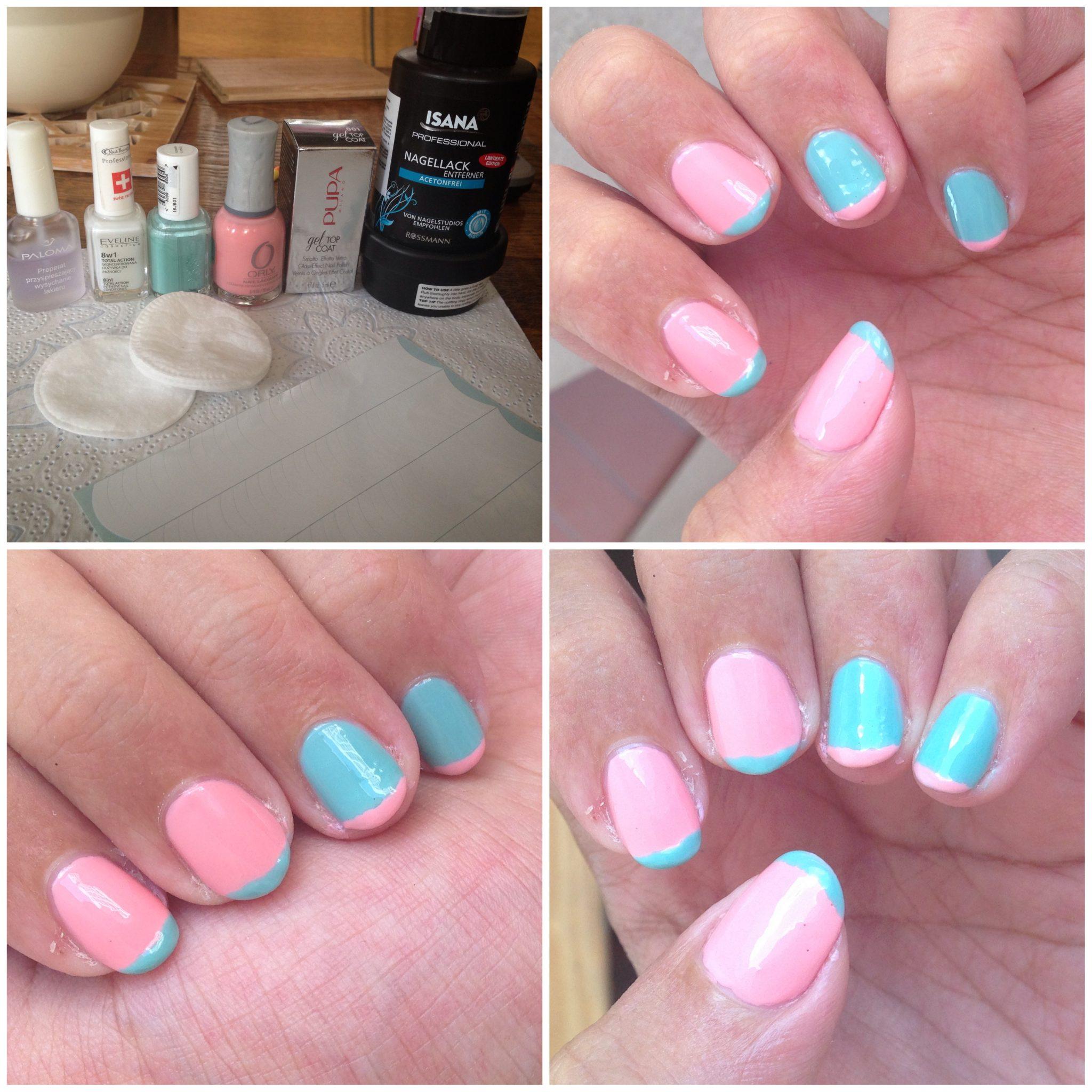 Letni manicure - kilka inspiracji pastelowy neonowy french
