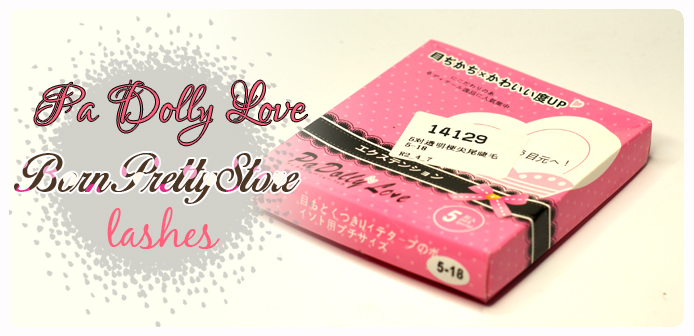 Rzęsy Pa Dolly Love z BornPrettyStore