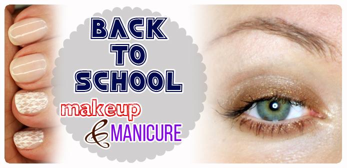 back to school makijaż do szkoły