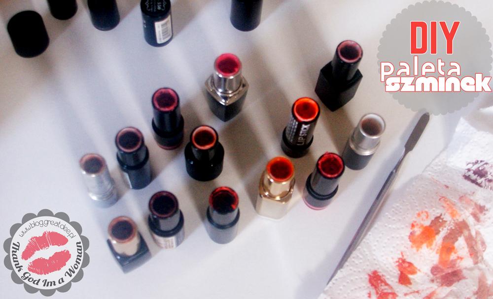 DIY: Paleta szminek