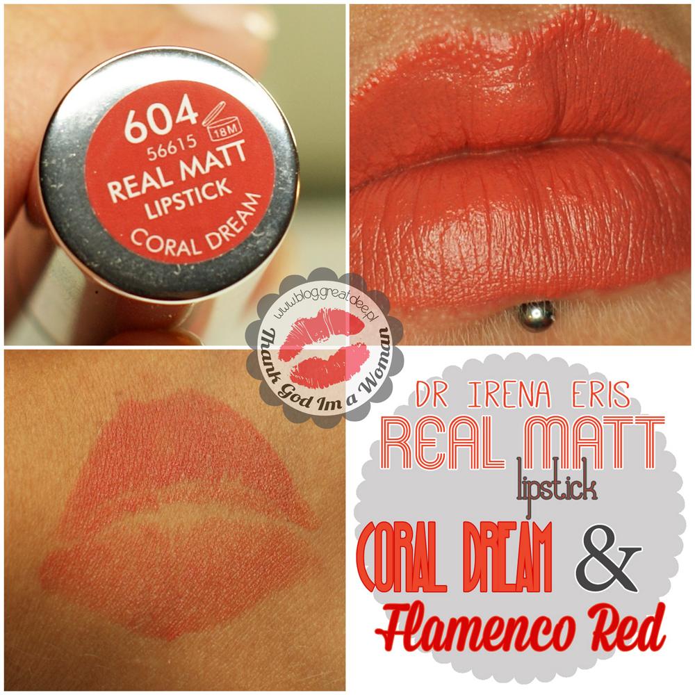 Dr Irena Eris - Provoke - Real Matt lipstick Dream Coral