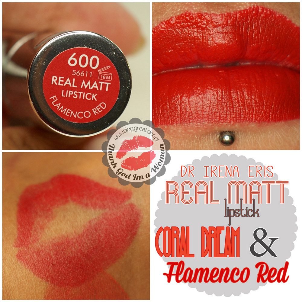 Dr Irena Eris - Provoke - Real Matt lipstick Flamenco Red