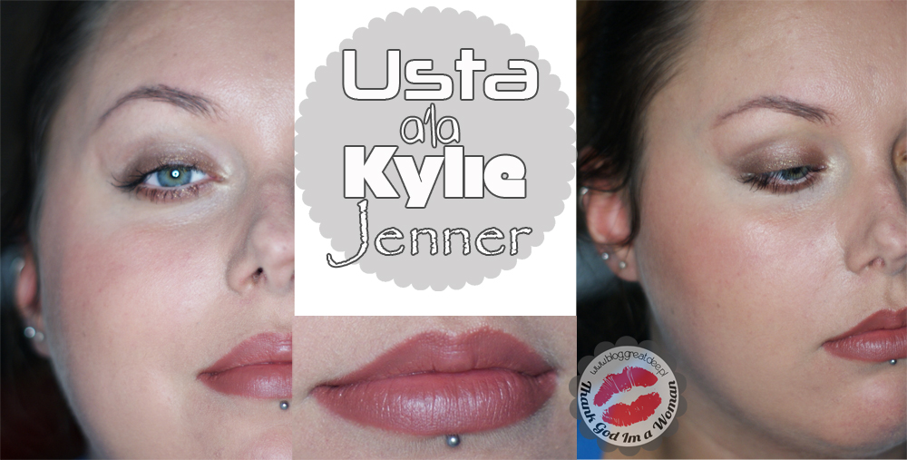 Make-up: Usta a'la Kylie Jenner