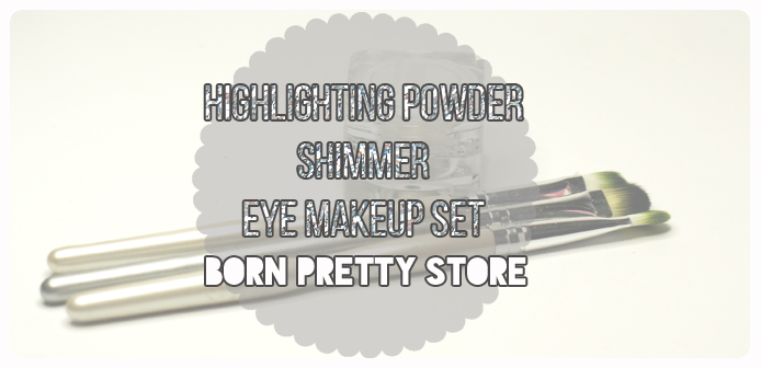 Highlighting Powder Shimmer Eye Makeup Set