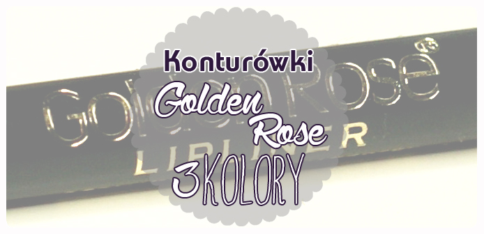 Konturówki do ust Golden Rose
