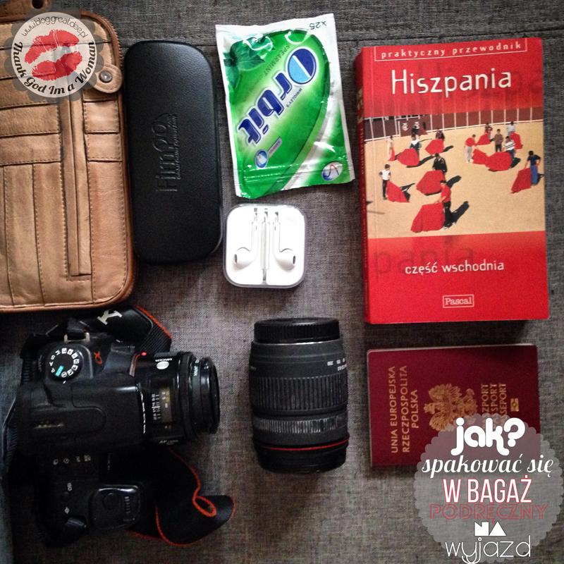 Jak spakować się do bagażu podręcznego na wyjazd?