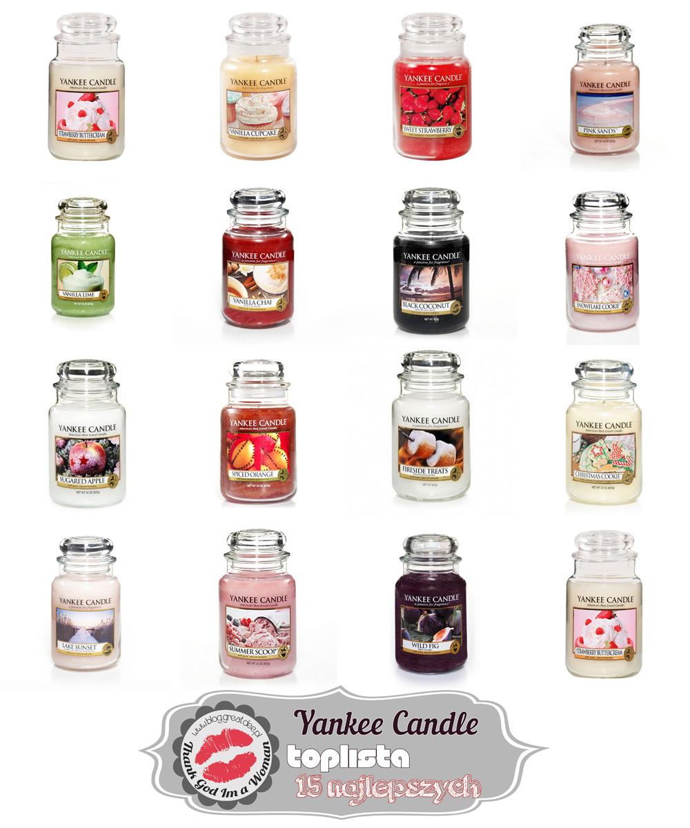 Toplista: 15 najlepszych zapachów Yankee Candle