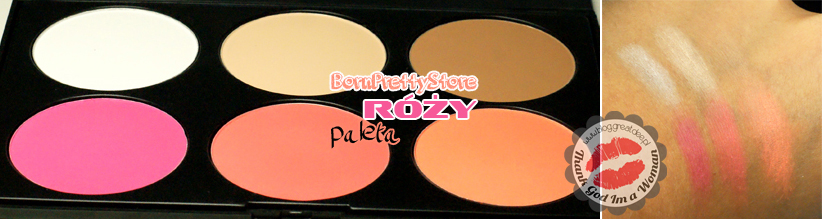 BornPrettyStore: paleta róży