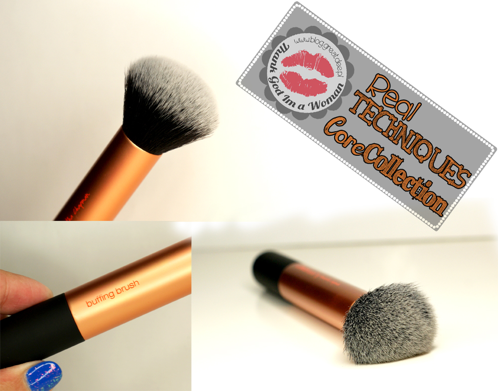 Real Techniques pędzle - Core Collection buffing brush