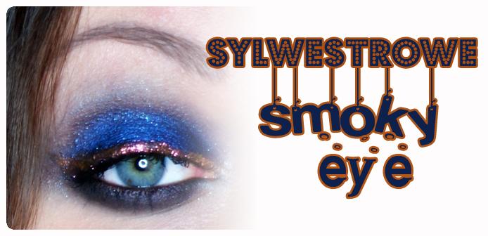 Make-up: Sylwestrowe smoky eye – granat i miedź