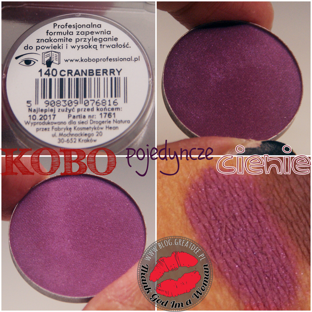 KOBO - cienie Russet, Cranberry, Chestnut, Chocolate Sweets