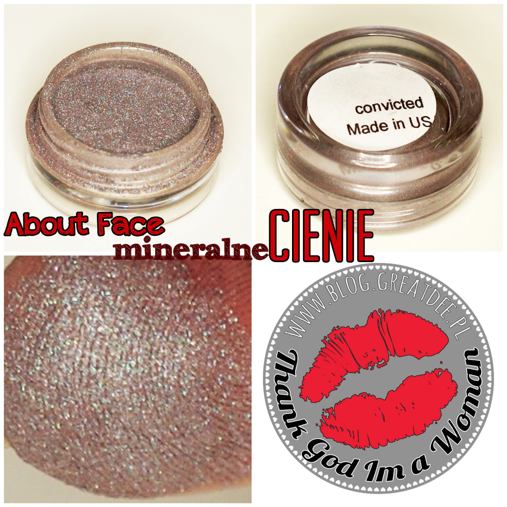 Cienie mineralne About Face - swatch convicted