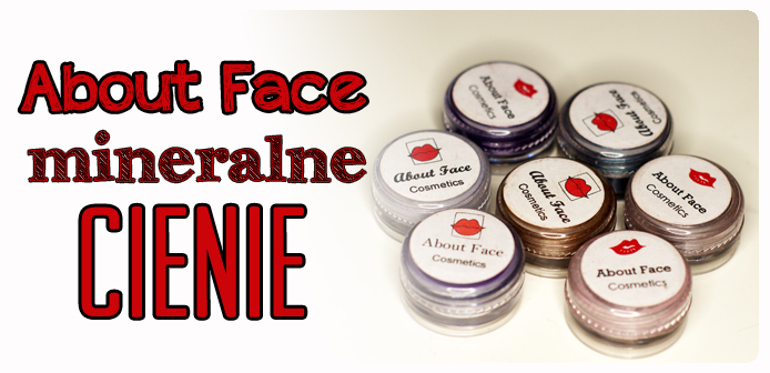 Cienie mineralne About Face - swatche