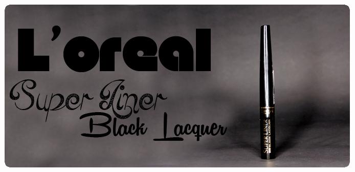 L'oreal Super Liner - Black Lacquer