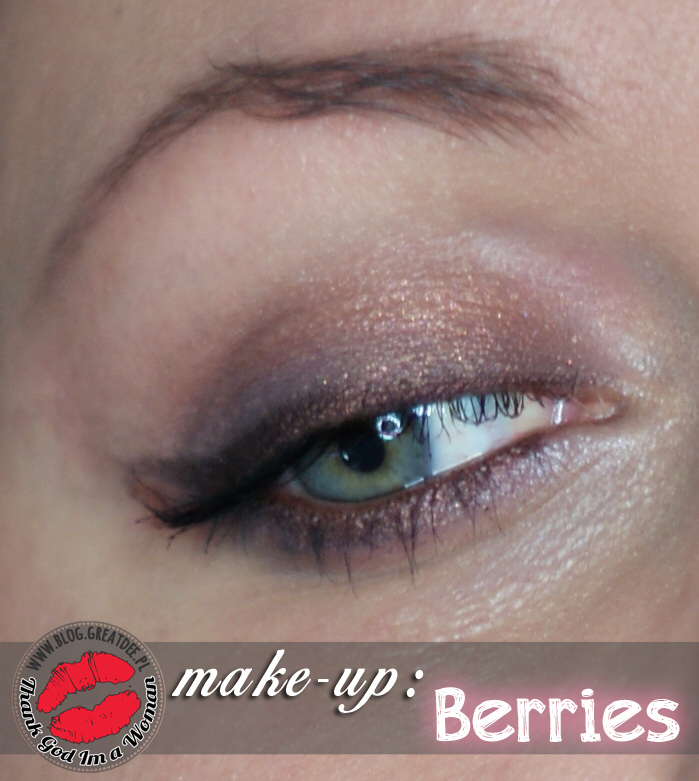 Make-up: Berries krok po kroku