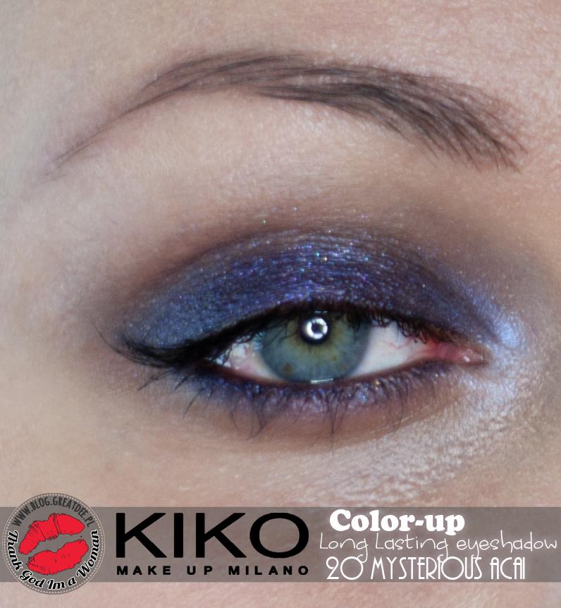 KIKO Milano: Long Lasting Eyeshadow - 20 Mysterious Acai