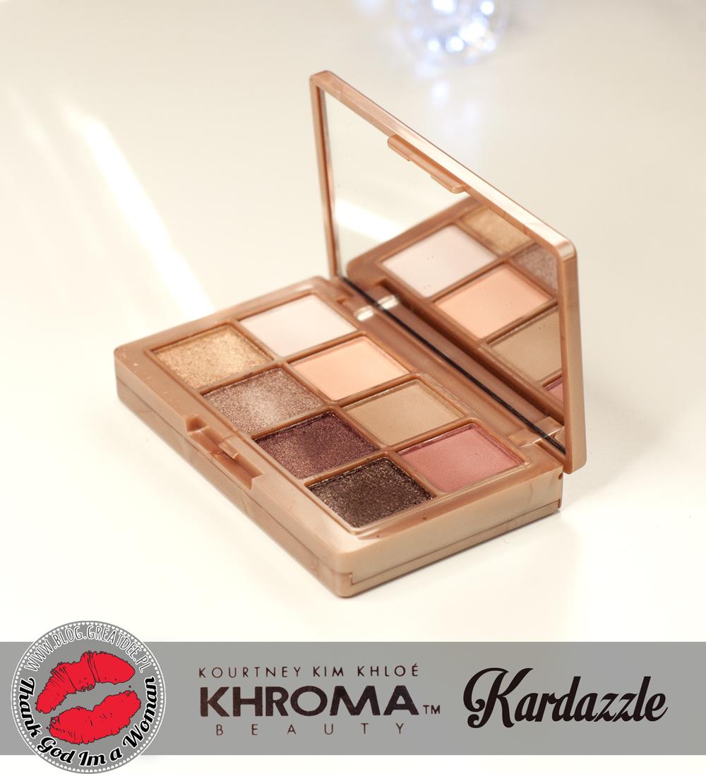 Khroma - marka sióstr Kardashians - Paletka Kardazzle by Kourtney