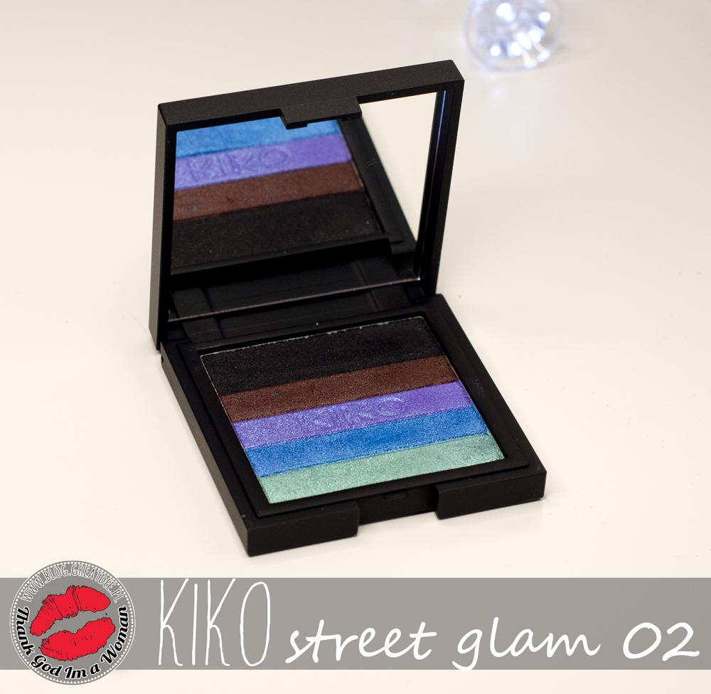 KIKO Street Glam 02 - paletka na lato