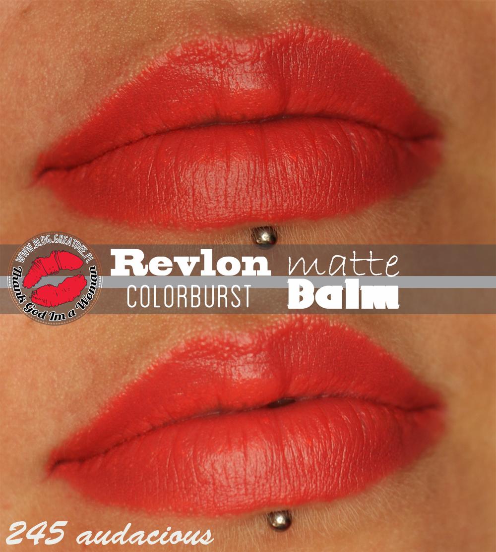 Revlon Colorburst Matte Balm 245 Audacious