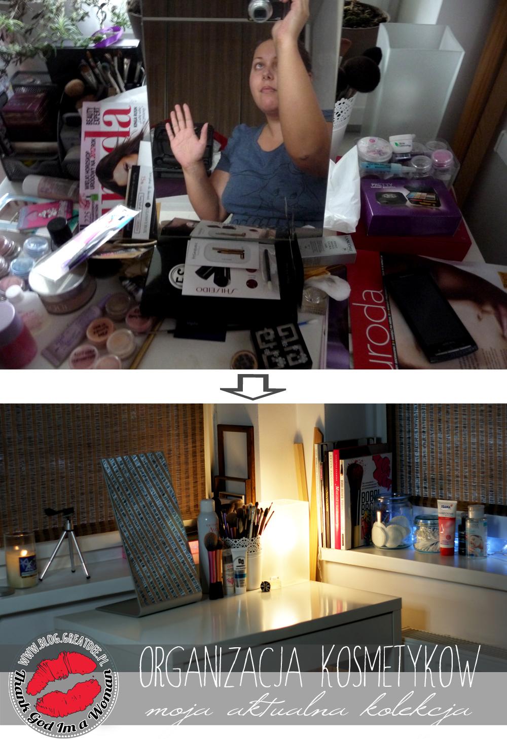 Organizacja kosmetyków - jak zorganizować przestrzeń toaletki