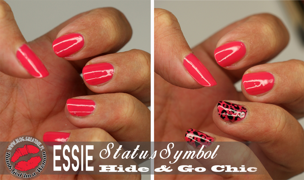Letnie lakiery: Essie Status Symbol i Hide & Go Chic