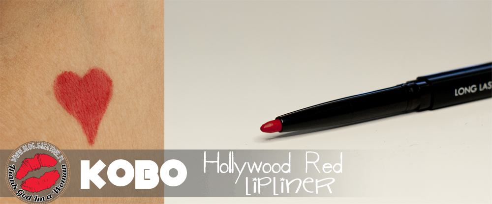 KOBO long lasting lip liner - Hollywood Red konturówka do ust